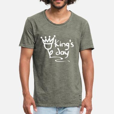 Day King Day Pays-Bas Amsterdam Fête du roi - T-shirt vintage Homme