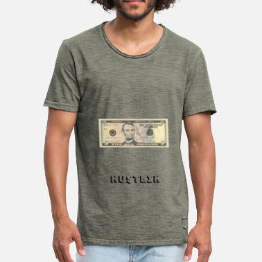 5 Dollar Hustlin 5 Dollar Note - Men's Vintage T-Shirt