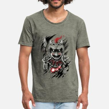 Gamer Wild Warrior - Mannen Vintage T-shirt