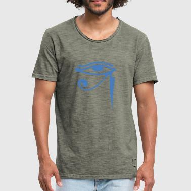 Eye of Isis - Mannen Vintage T-shirt