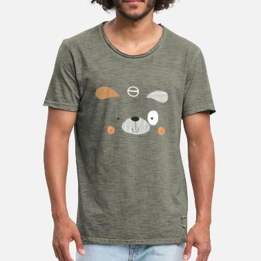 Canine canine - T-shirt vintage Homme
