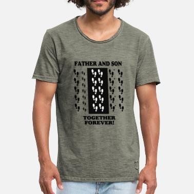 Father And Son Father and Son - Men's Vintage T-Shirt