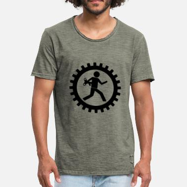 Workman Workman in the gear - Men's Vintage T-Shirt