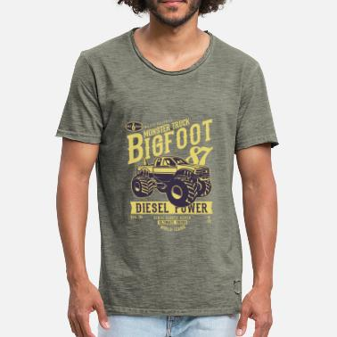 Big Foot Big Foot - Men's Vintage T-Shirt