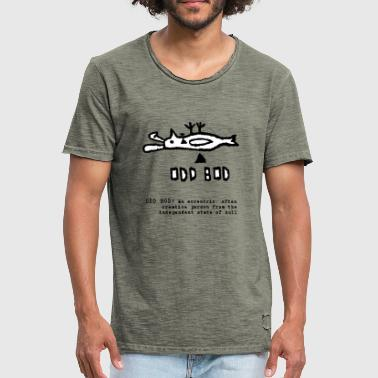 ODD BOD - Men's Vintage T-Shirt