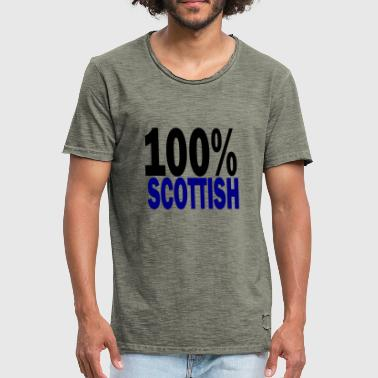scottish - Men's Vintage T-Shirt