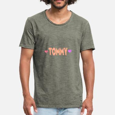 Tommy Heart Tommy - Men's Vintage T-Shirt