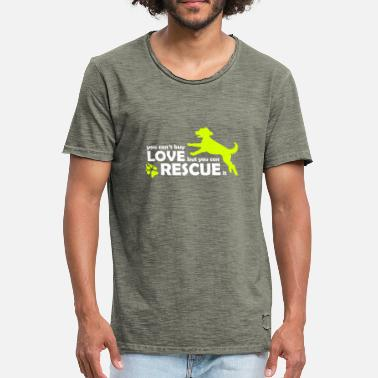 Rescue Dog Dog Dog Rescue - Rescue Dogs - Animal Protection - Men's Vintage T-Shirt