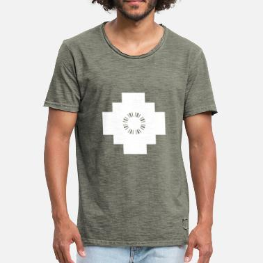 Andes Chakana Cruz Andina Andes Cross - Men's Vintage T-Shirt