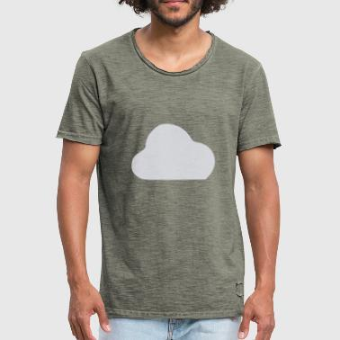 Cloudy cloudy - Men's Vintage T-Shirt