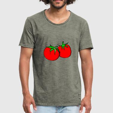Love Tomatoes tomatoes - Men's Vintage T-Shirt