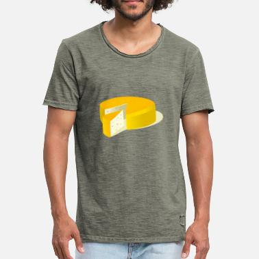 Cheese Cheese - Mannen Vintage T-shirt