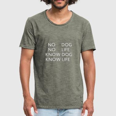 Profound DOG - Men's Vintage T-Shirt