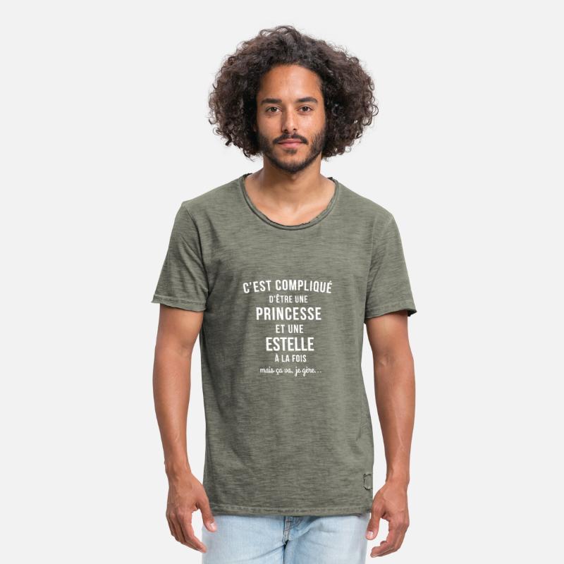 Tee Shirt Princesse Femme T-shirts - tee shirt femme prénom Estelle pas cher  - 62682400838