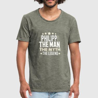 Philipp - Men's Vintage T-Shirt