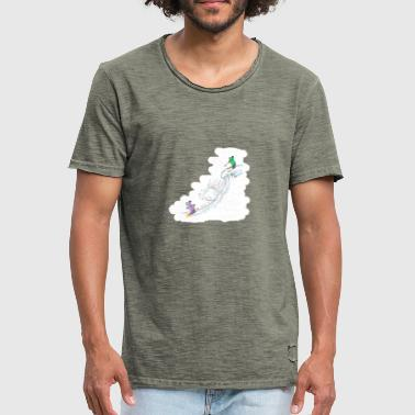 Downhill snowball - Men's Vintage T-Shirt