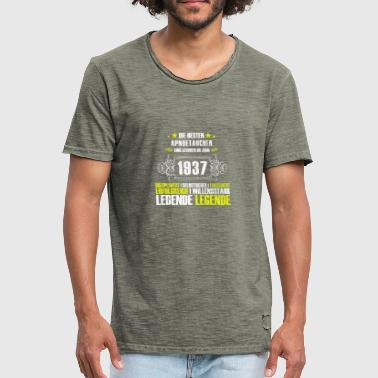 Apnoetauchen Gift for the 80th birthday for apologists - Men's Vintage T-Shirt