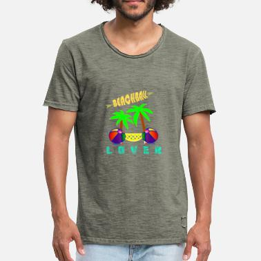 Beachball BEACHBALL Lover - Mannen Vintage T-shirt