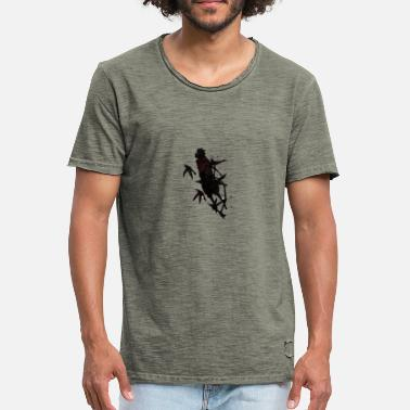 Photoshop introspectie - Mannen vintage T-shirt