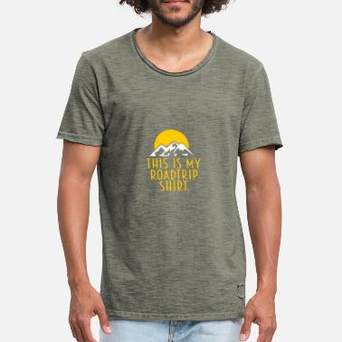 Roadtrip Dette er min Roadtrip shirt - Herre vintage T-shirt