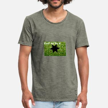 Fun Stars Star for Fun - Men's Vintage T-Shirt
