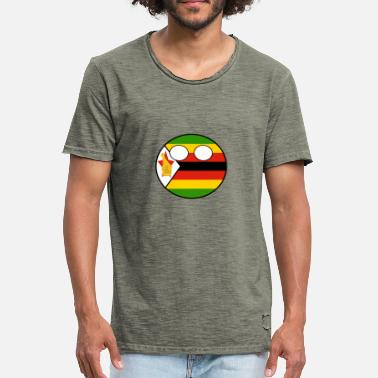 Countryball Countryball Country Home Zimbabwe - Men's Vintage T-Shirt