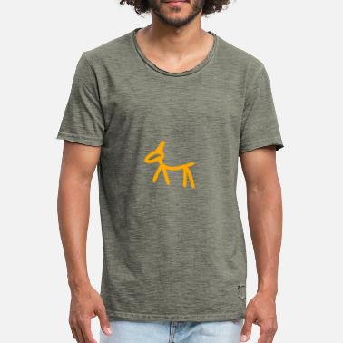 Cave Painting Caves painting - Men's Vintage T-Shirt