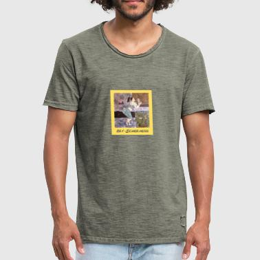 læbestift - Herre vintage T-shirt