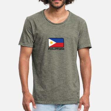 Jeepney National Flag Of The Philippines - Men's Vintage T-Shirt