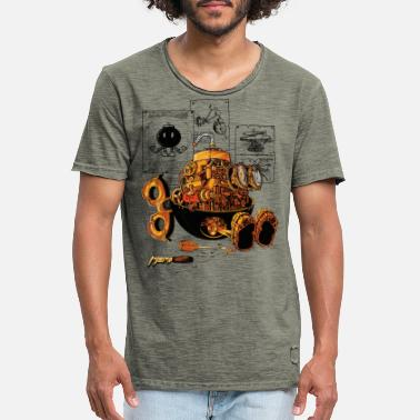 Gaming Collection work of the genius - T-shirt vintage Homme