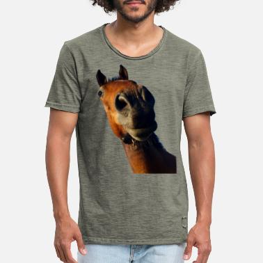 Chestnut Horse 1 - Men's Vintage T-Shirt