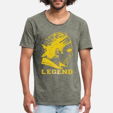 Roger ROGER THE LEGEND - T-shirt vintage Homme