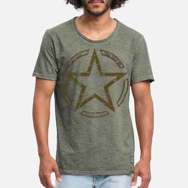Army Army star vintage US Army star - Men's Vintage T-Shirt