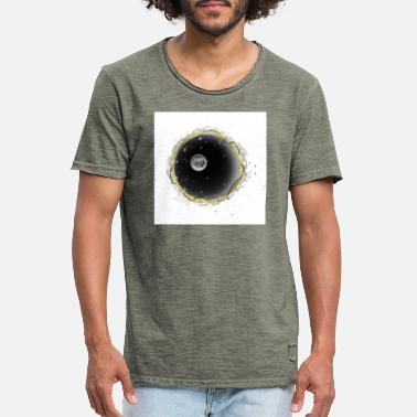 Solstånd BlackHoleRingNo background - Vintage T-shirt herr