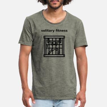 Solitary jail solitary fitness - Men's Vintage T-Shirt