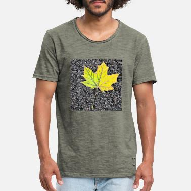 Leaf 1 - Men's Vintage T-Shirt