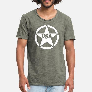 USA star - Men's Vintage T-Shirt