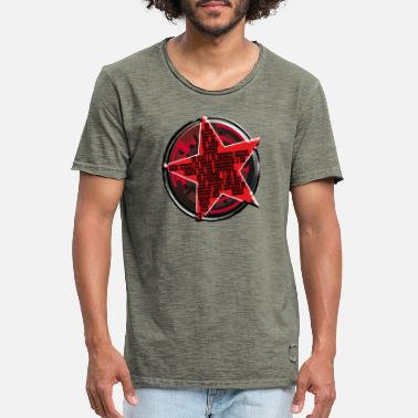 Guerilla STAR AND APPOINTMENTS - Men's Vintage T-Shirt