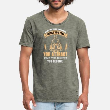 Law of Attraction - Men's Vintage T-Shirt