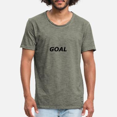 Goals Goal / goal - Men's Vintage T-Shirt