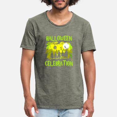 Celebration Halloween Celebration - Männer Vintage T-Shirt