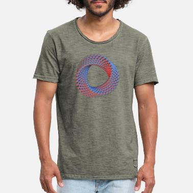 Ellipse Ellipse - Männer Vintage T-Shirt