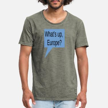 whatsupeurope - T-shirt vintage Homme