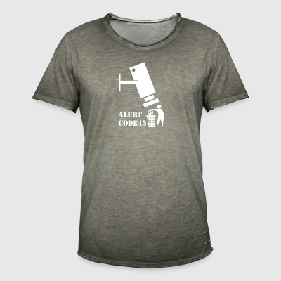 privacy wite - Men's Vintage T-Shirt