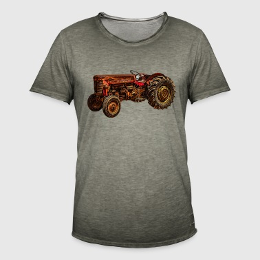 Tracteur, agriculteur, agriculteur, agriculture, agriculteur, pays, - T-shirt vintage Homme