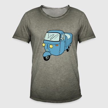 Ape scooter vans Vespacar scooter tricycle - T-shirt vintage Homme