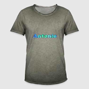 Name: Antonio - Men's Vintage T-Shirt