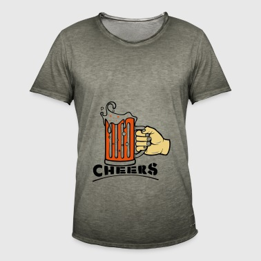 CHEERS! - Men's Vintage T-Shirt