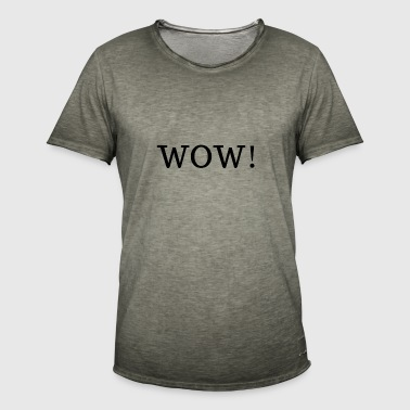 WOW! - T-shirt vintage Homme