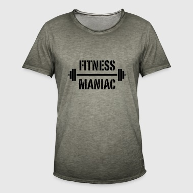 fitness maniac - Men's Vintage T-Shirt